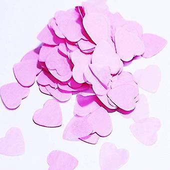 Vincenza paper hearts confetti wedding table occasion