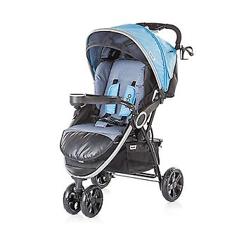 Chipolino stroller Aldo, collapsible, sunroof, foot bag, 3 wheels