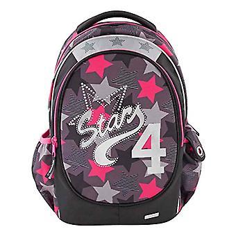 Depesche 10307 TOPModel - School Backpack - Reason: Stars - Color: Black