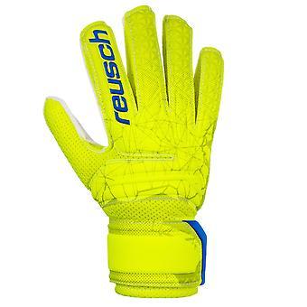 Reusch Fit Control SD Open Cuff Junior Kids Goalkeeper Goalie Glove Lime