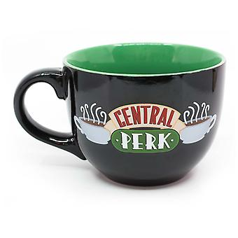 Friends Central Perk stor 24oz keramisk svart mugg