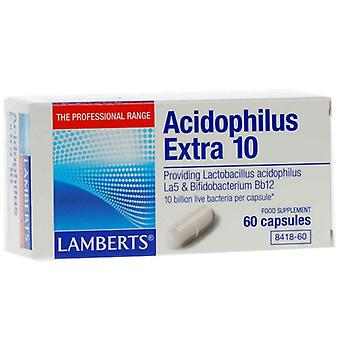 Lamberts Acidophilus Extra 10 Capsules 60 (8418-60)