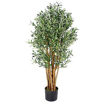 125cm Luxury Artificial Olive Tree - Premium Range
