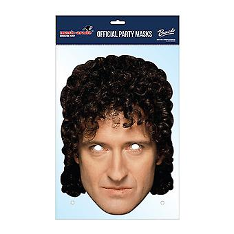 Brian May Official Queen Card Party Fancy Dress Mask