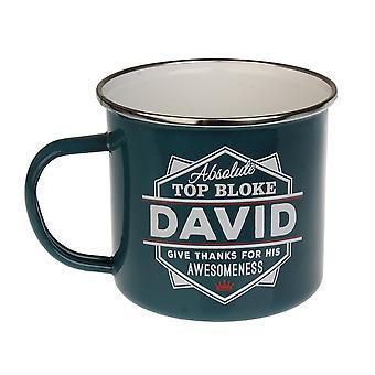 Historia & Heraldry David Tin Mug 40
