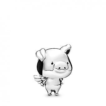 Charms Pandora 798253 - Pippo das silberne fliegende Schwein