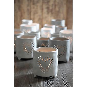 Majas Cottage Buddha Grey Candleholder