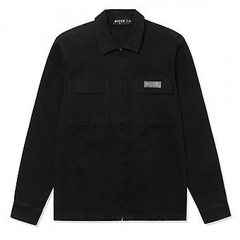NICCE Nicce Utilita Black Overshirt Jacket