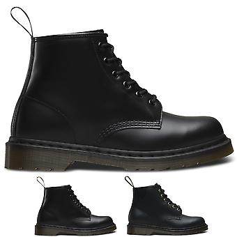 Unisex Adults Dr Martens 101 Smooth Originals Core Leather Ankle Boots