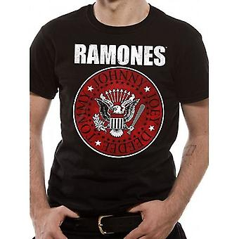 The Ramones - Red Fill Seal T-paita