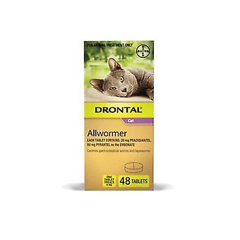 Drontal kissa Allwormer 4kg 48 n
