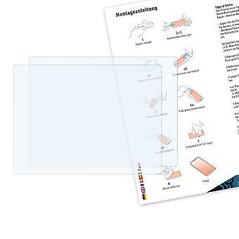 Bruni 2x Schutzfolie kompatibel mit Samsung WB200F Folie
