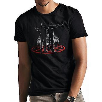 Supernatural Unisex Adults Silhouette Design T-Shirt