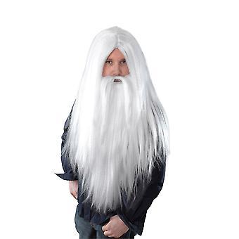 Bristol Nowość Mężczyźni Long Wizard Peruka i broda
