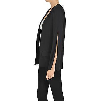 Elisabetta Franchi Ezgl026171 Women's Black Viscose Blazer