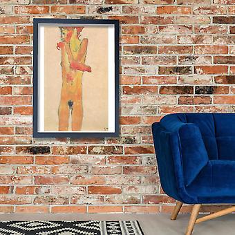 Egon Schiele - Nude Poster Print Giclee