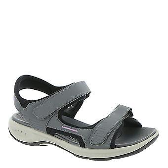 Fácil espírito Womens Elate3 tecido aberto Toe casual sandálias esporte