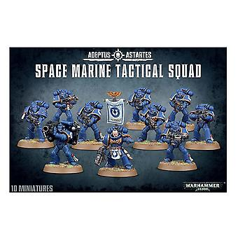 Warhammer 40K - Space Marine Tactical Squad