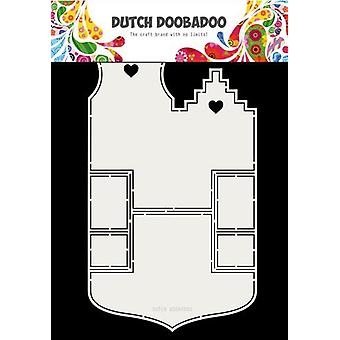 Dutch Doobadoo Fold card art Small houses A4 470.713.701