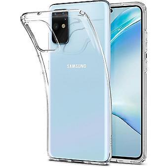 Samsung S20 Plus Liquid Crystal Transparent Compatible Shell