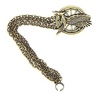 Hunger Games Catching Fire Unisex Adults Mockingjay Hair Clip And Ear Cuff
