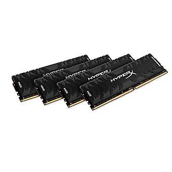 HyperX Predator HX424C12PB3K4/32 DDR4 32 GB Kit (4 x 8 GB), 2400 MHz CL12 DIMM XMP