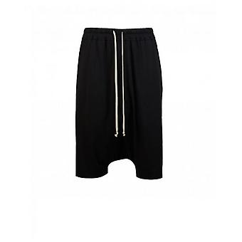 Rick Owens Drk Shdw Drawstring Jersey Pods Shorts