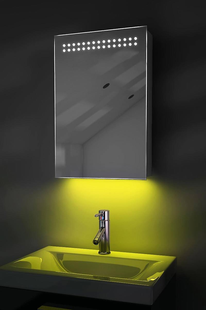 Ambiance salle de bain armoire LED avec la prise de la sonde & rasoir k255W