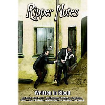 Ripper Notes Written in Blood by Norder & Dan