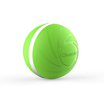 Wicked Ball - interactive toy for dog and cat - green