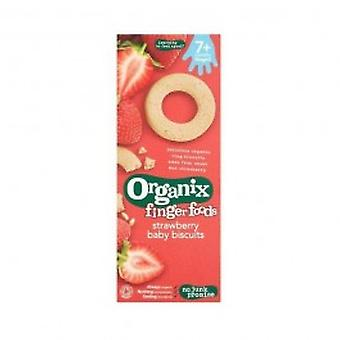 Organix - Strawberry Baby Biscuits