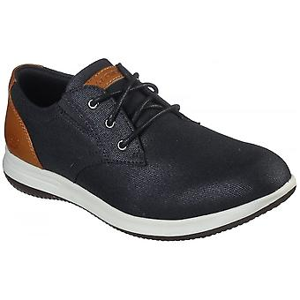Skechers Darlow Remego Lace Up Textile Standard Fitting Shoes