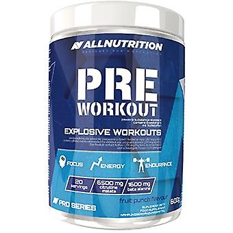 Allnutrition Pre Workout Fruit Punch 600 g