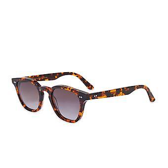 Monokel Okulary Model Havana Szary Soczewka Okulary przeciwsłoneczne