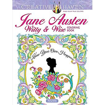 Creative Haven Jane Austen Witty & Wise Coloring Book by Marty No