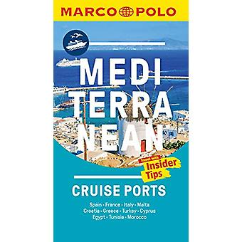 Mediterranean Cruise Ports Marco Polo Pocket Guide - with pull out ma