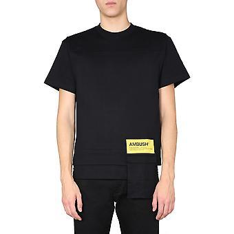 Ambush 12112078blck Men's Black Cotton T-shirt