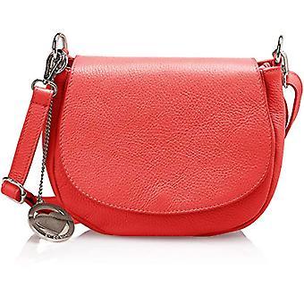 Chicca Bags Cbc3309tar Women's Shoulder Bag Red 7x18x23 cm (W x H x L)