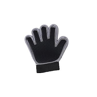 Black Left Hand Silicone Pet Grooming Glove