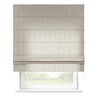 Raffrollo Padva, grijs-ecru , 100 x 170 cm, Quadro, 136-12