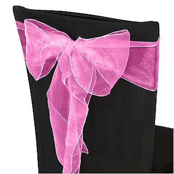 17cm x 274cm Organza Table Runners Wider et Fuller Sashes