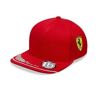 Scuderia Ferrari Puma Replica Team Leclerc Baseball Cap | 2020 | Adulto