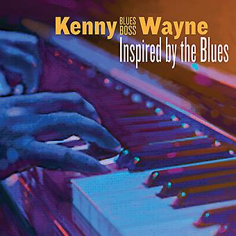Wayne*Kenny - Inspired by the Blues [CD] USA import