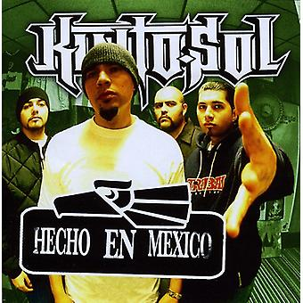 Kinto Sol - Hecho En Mexico [CD] USA import