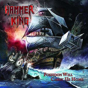 Hammer King - Poseidon Will Carry Us Home [CD] USA import