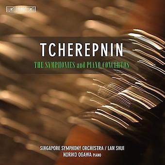 Shui/Singapore Symphony Orchestra, Noriko Ogawa, Lan - Tcherepnin: The Symphonies & Piano Concertos [CD] USA import