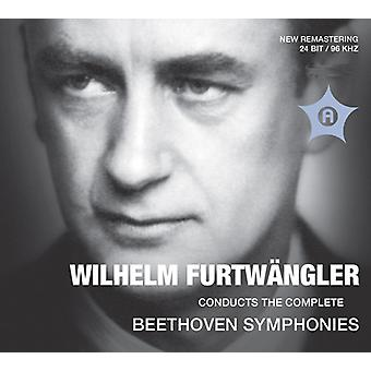 Beethoven/Furtwaengler/Berlin Phil/Vienna - Wilhelm Furtwangler Conducts the Comp Beethoven [CD] USA import