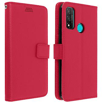 Huawei P smart 2020 Folio case with video support - pink