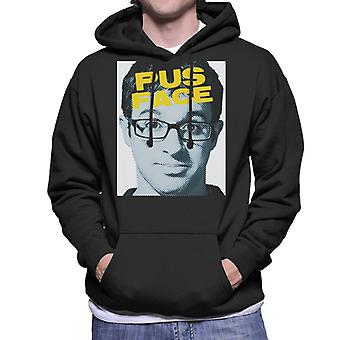 Friday Night Dinner Adam Pus Face Men's Hooded Sweatshirt