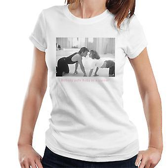 Dirty Dancing Nobody Puts Baby In A Corner Women's T-Shirt